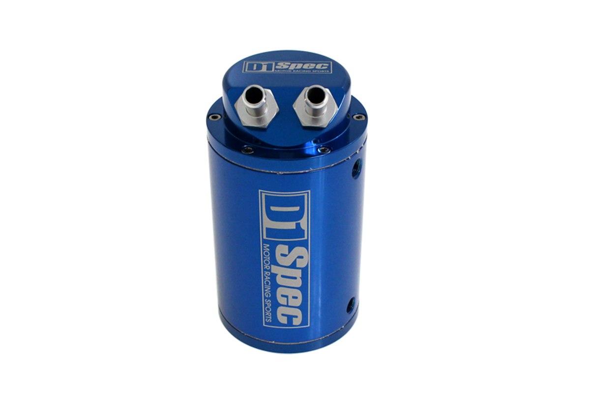 Oil catch tank 0.7L 9mm D1Spec Blue - GRUBYGARAGE - Sklep Tuningowy